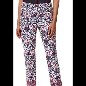 LOFT Outlet Pink Marisa Capris Crop Pants